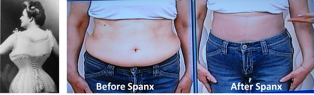 corset and spanx