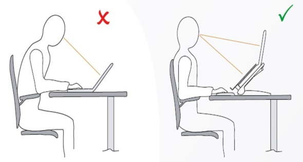 Figure 6 laptop ergonomics